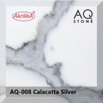 AQ-008 Calacatta Silver